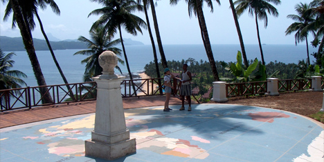 Equator at Illhue das Rolas